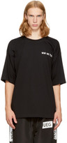 Ueg Black Oversized dissenter T-shirt