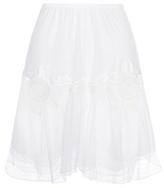 Chloé Cotton Lace Skirt