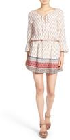 Sanctuary &Marrakech& Lace-Up Blouson Dress