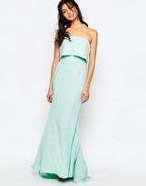 Jarlo Blaze Bandeau Maxi Dress With Overlay