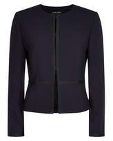 Jaeger Navy Fitted Jacket