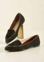 Yoki Fashion International Best of Velvet Loafer in Thyme