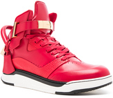 Buscemi B Court Leather Sneakers