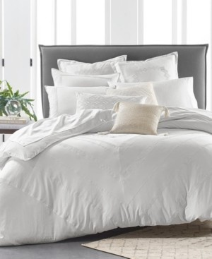Lucky Brand Closeout! Stitch Diamond 2-Pc. Twin/Twin Xl Duvet Set Bedding