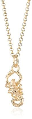 Scream Pretty Gold Scorpion Necklace