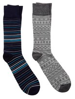 Jonathan Adler Men's Pack Of 2 Socks.