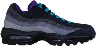 Nike 95 Black Rubber Trainers