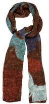 Fendi Abstract Print Scarf