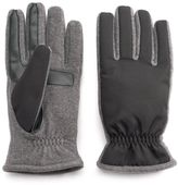 Isotoner Men's Matrix smarTouch THERMAflex Touchscreen Active Gloves