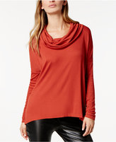 BB Dakota Cowl-Neck Hogen Sweater
