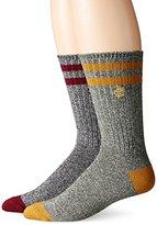 Timberland Men's 2 Pack Marled Crew Sock