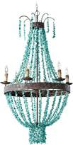 Regina-Andrew Design Regina Andrew Design Beaded Turquoise Chandelier