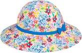 Jo-Jo JoJo Maman Bebe Floral Floppy Sun Hat (Baby/Toddler) - Bright-0-6 Months