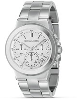 Stainless Steel Chronograph Watch with Bracelet Strap, 38 mm