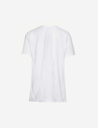 Markus Lupfer Madison graphic-print cotton-jersey T-shirt