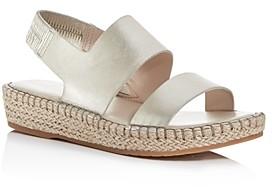 Cole Haan Women's Cloudfeel Slingback Platform Espadrille Sandals