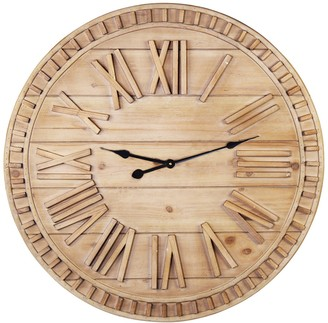 James Wooden Wall Clock