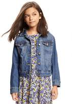 Old Navy Medium-Wash Denim Jacket for Girls