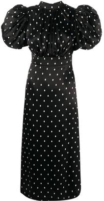 Rotate by Birger Christensen Polka Dot Dress