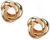 Dillard's Tailored Open Knot Stud Earrings