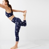 J.Crew New Balance® for high-waisted performance crop leggings in star print