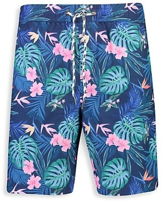 Jungle Party Owls and Birds Childrens Board Shorts FitnessStretchcamo Shorts Beachshorts