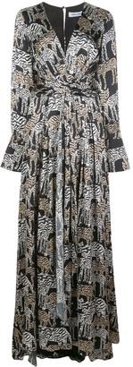 Prabal Gurung Jimili safari print gown