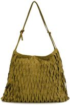 Ma+ - large fringed crossbody bag - women - Calf Leather - One Size