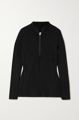 Varley Formosa Stretch-jersey Sweatshirt - Black