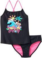 "Girls 7-16 SO® ""Surf's Up"" 2-pc. Tankini Swimsuit Set"