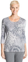 Chico's Debbie Sequined Top