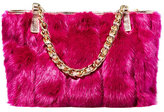 Betsey Johnson Fur Your Eyes Only Satchel