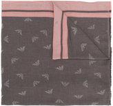 Armani Jeans monogram scarf
