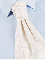 M&S Collection Pure Silk Wedding Cravat