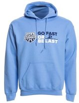 USA Swimming Unisex Go Fast or Be Last Pullover Hoodie 8147092