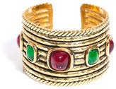 Chanel Gemstone encrusted cuff