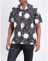Junya Watanabe Floral-patterned Chiffon Shirt