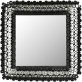 Safavieh Square Tube Black Wall Mirror