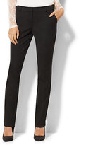 New York & Co. 7th Avenue Design Studio Tuxedo Pant – Slim-Leg – Modern – Leaner Fit – SuperStretch