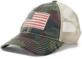 Polo Ralph Lauren Flag Camo Mesh Trucker Hat