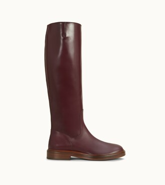 Tod's Riding Boots in Leather