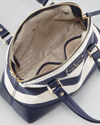 Kate Spade Grove Court Striped Maise Bag, Blue