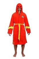 Robe Factory DC Comics Flash Hooded Fleece Robe