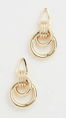 Jules Smith Designs Roped Up Double Hoops