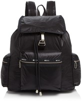 Le Sport Sac Three-Zip Voyager Backpack