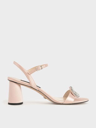 Charles & Keith Wedding Collection: Embellished Heeled Sandals