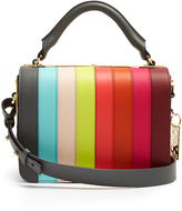 Sophie Hulme Finsbury striped leather bag