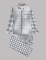 Marks and Spencer Gingham Checked Pyjamas (1-10 Years)