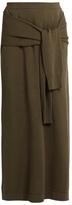 Joseph Tie-front maxi skirt