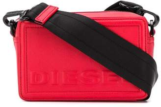 Diesel Square cross-body bag in leather